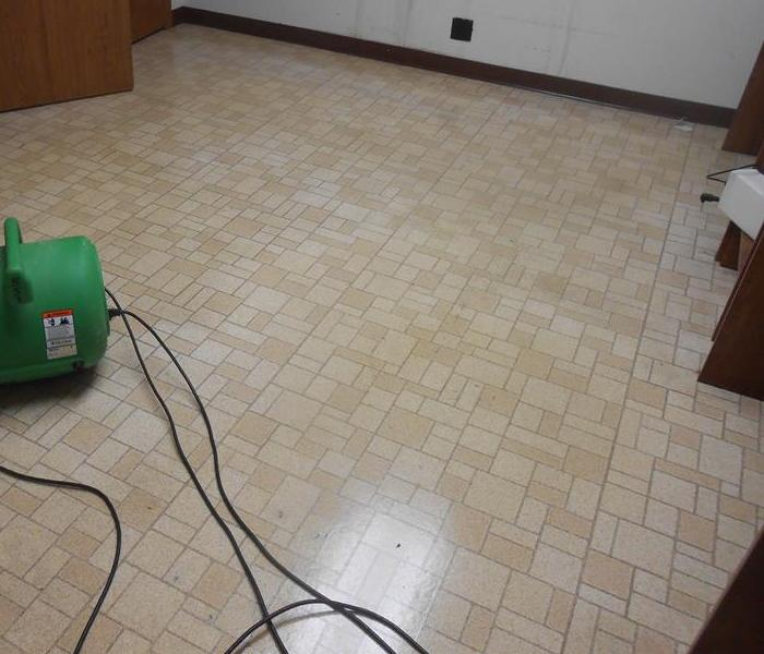 Tile floor cleaning After