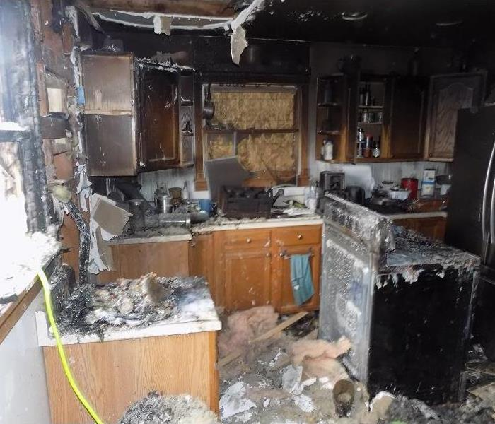 Fire Damage Smoke Detectors
